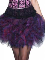 Fashion Women Mini Mesh Skirt Corset TUTU Dress Wholesale