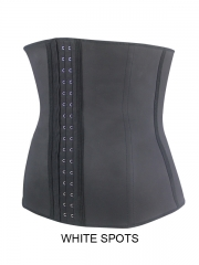 Black Spot Latex Shaper Waist Training Corset Wholesale