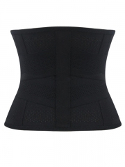 Black Girdle Tummy Control Body Shaper Sports Waist Trainer