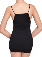 Slimming Elastic Bodysuits V Neck Body Shaper For Women