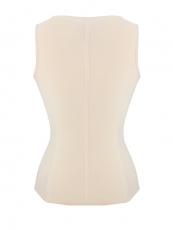 Latex Shaper 4 Steel Boned Corset Waist Cincher Vest