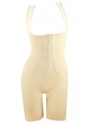Zip n Clips Women Shapewear Seamless Full Lace Body Shaper