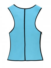 Mens Slimming Shapewear Latex Body Shaper Waist Trainer Vest