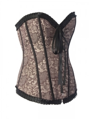 Romantic Rose Lace Corset