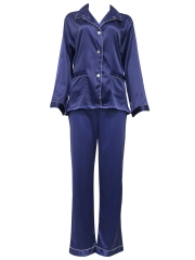 Womens Nightdress Pure Silk Pyjamas Set Loungewear Wholesale