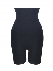 Black Steel Boned Shapewear High Waist Butt Lift Body Shaper