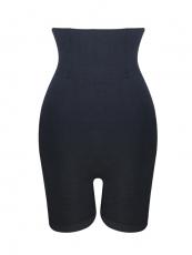 Black Steel Boned Shapewear High Waist Butt Lift Body Shaper