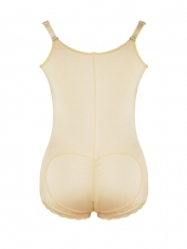 Clips n Zipper Womens Shapewear Latex Butt Lift Body Shaper