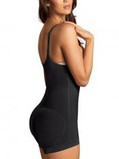 Clips n Zipper Womens Shapewear Latex Butt Lift Body Shaper