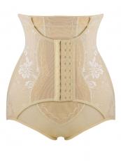 4 Steel Boned Women Lace Shapewear High Waist Body Shaper