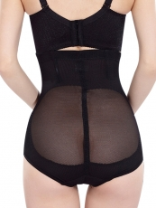 4 Steel Boned Women Lace Shapewear High Waist Body Shaper