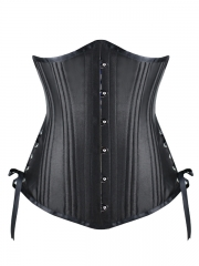 22 Double Steel Boned Underbust Satin Waist Training Corset
