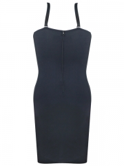Black Women Control Slip Shapewears Full Body Shaper Dress