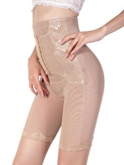 Front Clips Women Lace High Waist Butt Lift Body Shaper