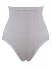 Grey High Waist Body Shaper Seamless Shapewear For Women