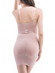 Slimming Women Lace Body Shaper Dress Full Slip Shapewear