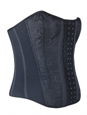 Womens Gothic Latex Overbust Steampunk Corset Bustier Tops