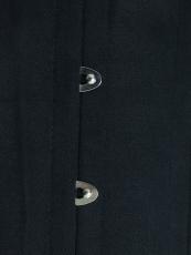 Black Double Steel Boned Underbust Waist Training Corset