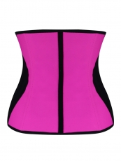 9 Steel Boned Latex Shaper Waist Training Corset Cincher