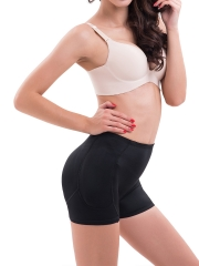 Seamless Padded Control Bodyshort Butt Hip Lift Shaper