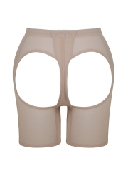 Plus Size Mesh Butt Lift Body Shaper Booty Control Shapewear