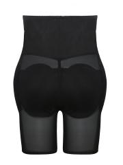 Mesh High Waist Padded Panties Butt lift Body Shaper