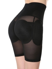 Mesh High Waist Padded Panties Butt lift Body Shaper