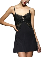 Lace Deep V Nightdress Sexy Sleepwear Lingerie Wholesale