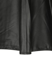 Retro Women Faux Leather Flared Mini Skater Steampunk Skirts