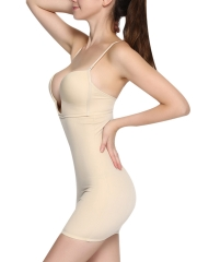 Slimming Firm Control Shapewear Straps Body Shaper Dress