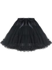 Vintage Womens Tulle Mini Steampunk Skirts Corset TUTU Dress
