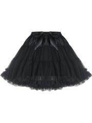 Vintage Womens Tulle Mini Steampunk Skirts Corset TUTU Dress