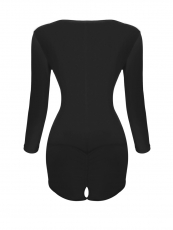 Slimming Long Sleeve Arm Compression Body Shaper Bodysuits