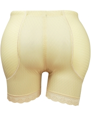 Plus Size Womens Padded Control Panties Butt Hip Lift Shaper