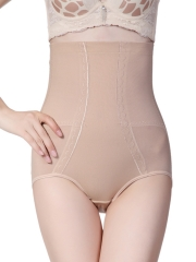 Steel Boned High Waist Control Panties Butt Lift Body Shaper