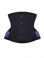 Vintage Underbust Embroidery Waist Training Corsets Cincher