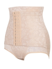 2 Steel Bones Waist Control Shapewear Lace Body Shaper
