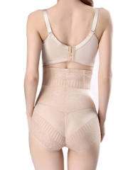 High Waist Lace Body Shaper Steel Boned Shapewear Wholesale
