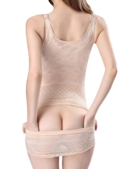 Tummy Control Underbust Slimming Shapewear Lace Body Shaper