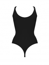 Latex Wasit Trainer Clips n Zipper Body Shapers Shapewear