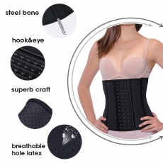 25 Steel Bones Latex Shaper Underbust Waist Training Corsets