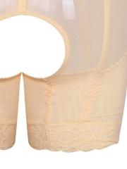 Women Lace Shapewear 4 Steel Bones Butt Lifter Body Shaper