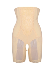 Women Lace Shapewear 4 Steel Bones Butt Lifter Body Shaper