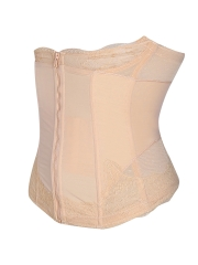 Slimming Clip n Zipper Lace 9 Steel Bones Waist Body Shapers