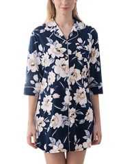 Cute Women Floral Print Nightgowns Sleepshirts Sleepwear