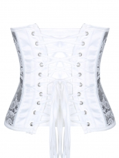 Thin Lace Underbust Waist Training Corsets Cincher