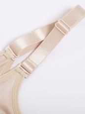 Women Clip n Zipper Lace Bodysuit Body Shaper Shapewear