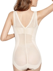 Women Seamless Bodysuits Slip Control Shapewear Body Shaper