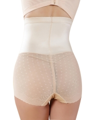 Women Breathable Thin Lace Tummy Control Panties Body Shaper