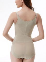 Open Bust Bodysuit Shapewear Seamless Body Shaper For Women